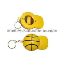 hat shape keychain beer bottle opener
