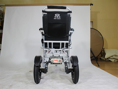 Conveniently Automatic Folding Wheelchair for Old