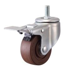 Vástago roscado de alta temperatura con la rueda de freno (280 grados)