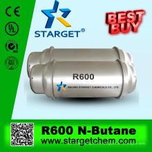 Газообразный хладагент н-бутан R600 чистота 99,9%