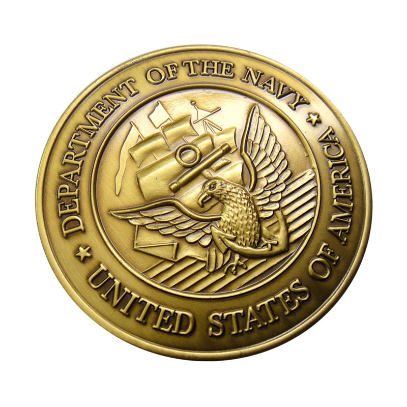 Department Of The Navy Metal Product Coin
