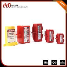 Elecpopular Bulk Comprar De China OEM Polipropileno Caja de bloqueo de enchufe eléctrico Caja de bloqueo de instalación fácil