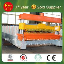 Автоматическая производственная линия профилегибочной машины для производства цветных стальных стен и кровельных панелей Hky 25-275-1100