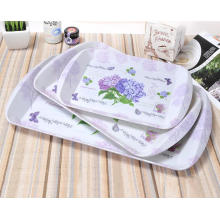 (BC-TM1027) Hot-Sell High Quality Reusable Melamine Serving Tray