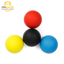 Wholesale Eco-Friendly Fitness Rubber TPR Lacrosse Ball