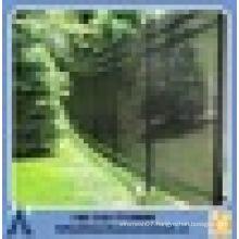 anping Slope terrain wrought iron fence black slope garden fence metal garden fence