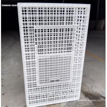 O caso de plástico reforçado de gaiola de transporte de frango