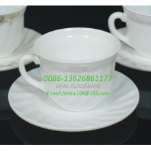 Elegant Shape Coffee Cups And Saucers