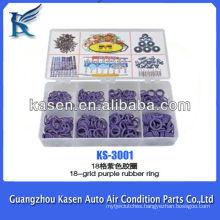 18-grid purple automotive rubber seal ring