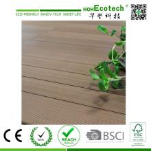 Eco-Friendly Barefoot Garden WPC Decking Outdoor Floor