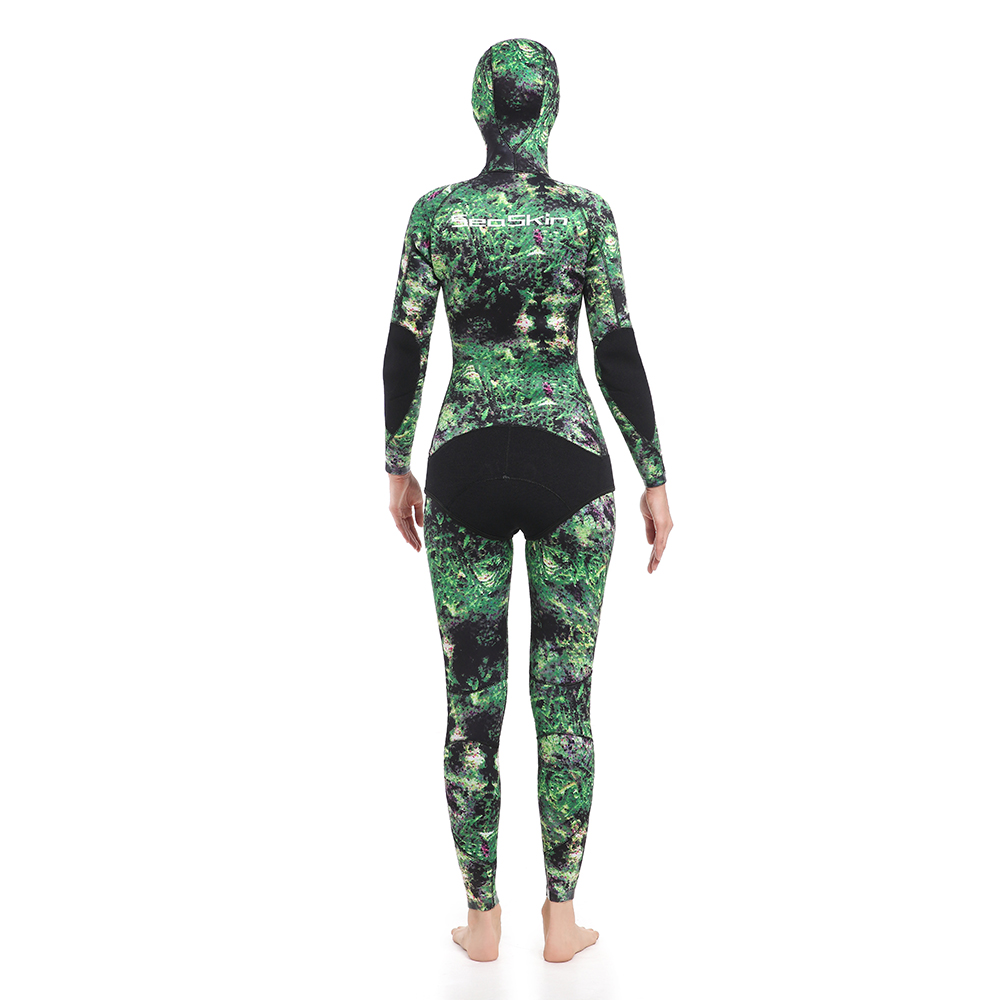 Two Pieces Wetsuit for Spearfishing