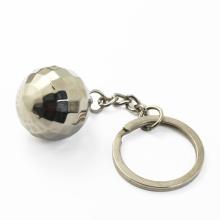 Custom Metal Souvenir Las Vegas 3D Color Electroplate Disco Ball Keychain