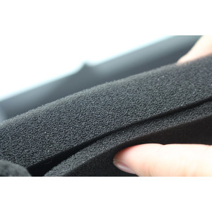 Pelekat PVC Black Rubber Foam Sheet