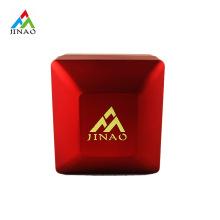 Boîte à bagues LED rouge en plastique