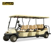 Personalizado 8 lugares carrinho de golfe carrinho de golfe barato para venda carro de turismo elétrico