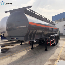 3Axle Fuel Oil Tank نصف مقطورة