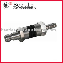 TRUFLATE type connector w/hose barb,coupler