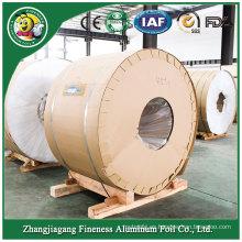 Envase de fábrica de papel de aluminio rollo enorme de alto grado