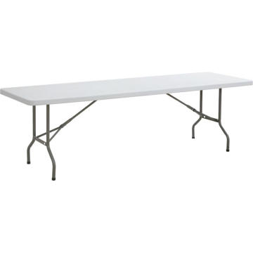 Mesa plegable rectangular de 8 pies