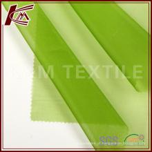 Organza de seda pura 100 tecido couro fino tecido tecido de seda do vestuário tecido