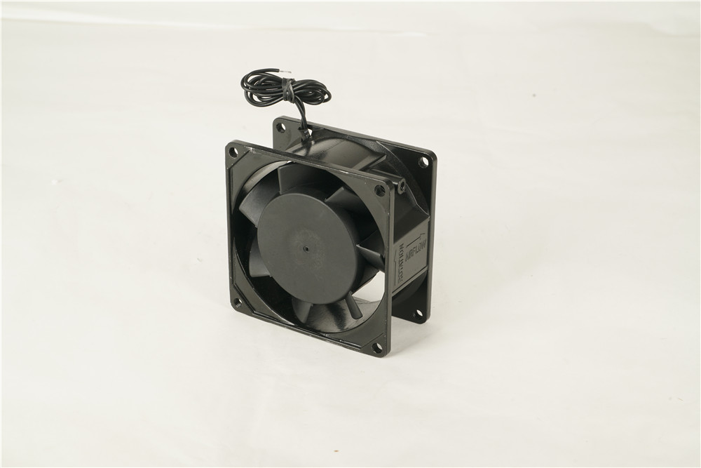 8038 Aluminum Alloy Computer Fittings Cooling Fan