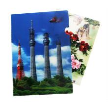 Venta al por mayor Carpetas de archivos claras decorativas 3D PP