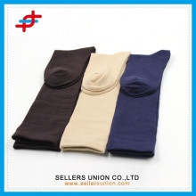 Hot-sale OEM pure colored stockings/cotton stockings/men stockings