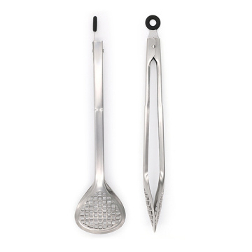Grill Fry Tongs Large Kitchen Tong Inox