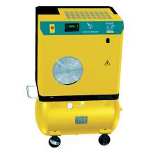 Портативный электрический винтовой воздушный компрессор (4-11кВт)