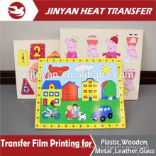 heat transfer printing film for plane wooden toy