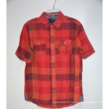 Vente en gros Vêtements de plage pour hommes Chemises hawaïennes en lin
