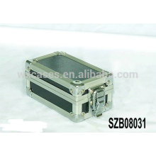 New design aluminum watch storage boxes for 2 watches manufacturer
