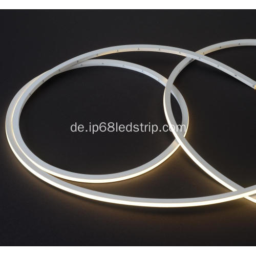 Evenstrip IP68 Dotless 0709 3000K Top Bend Led Streifen Licht