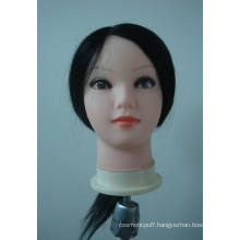 Hot Sell Cheapest Training Head Brown Color Doll Training Head/Hairdressing Head/100% Human Hair Training Head for Hairdressing School