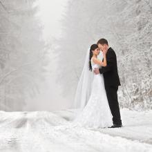 European Style Comfortable Light Luxury Wedding Dresse