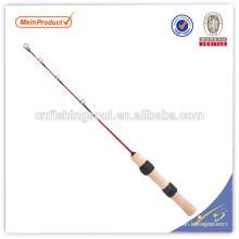 ICR054 graphite canne à pêche blanc canne à pêche weihai oem carbone glace canne à pêche