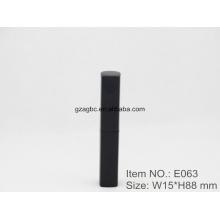 Slender & élégant en forme de stylo en aluminium rouge à lèvres Tube E063, taille de tasse 8,5 mm, couleur personnalisée