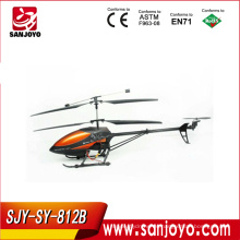 motor eléctrico helicóptero de juguete 3.5CH helicóptero rc w / LED metal-marco