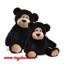 Plush Stuffed Black Bears