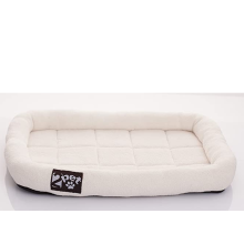 Soft Padded Fleece Pet Bed