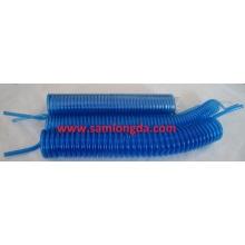 Clear Blue PU Tube / PU Coil Tube / PU Spiral Schlauch