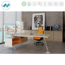 Contract Office Furniture Manager Executive Computer Desk with Steel Leg (maker-MD18)