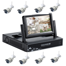 CCTV 8CH HD caméra moniteur nvr kit sans fil wifi caméra kit
