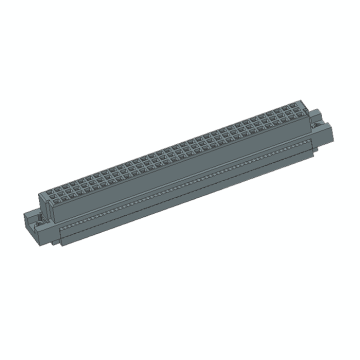 DIN41612 Vertical Female 64P IDC Connectors 3Row