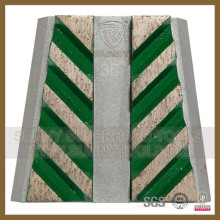 Marble Frankfurt Metal Pad mit 8 Segmenten