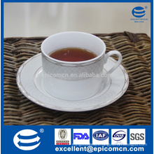 china ceramic tea ware, gold decorated porcelain tea cup&saucer