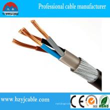 0.6/1kv Cu/XLPE/PVC/Swa/PVC Power Cable British Standard BS5467