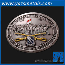 fertigen Sie Gürtelschnallen, kundenspezifische antike Metallgürtelschnallen besonders an