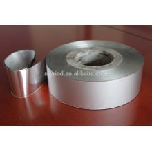 Ruban en tissu tissé en aluminium, matériau de toiture réfléchissant et argenté