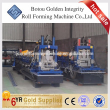 China Metal Structural High Quality Steel Profile CZ Section Purlin Cold Roll Forming Machine